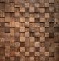 """Деревянная мозаика """"Студия"""" 30х30см дуб шлифов./венге 3D.2.0.4.0"""